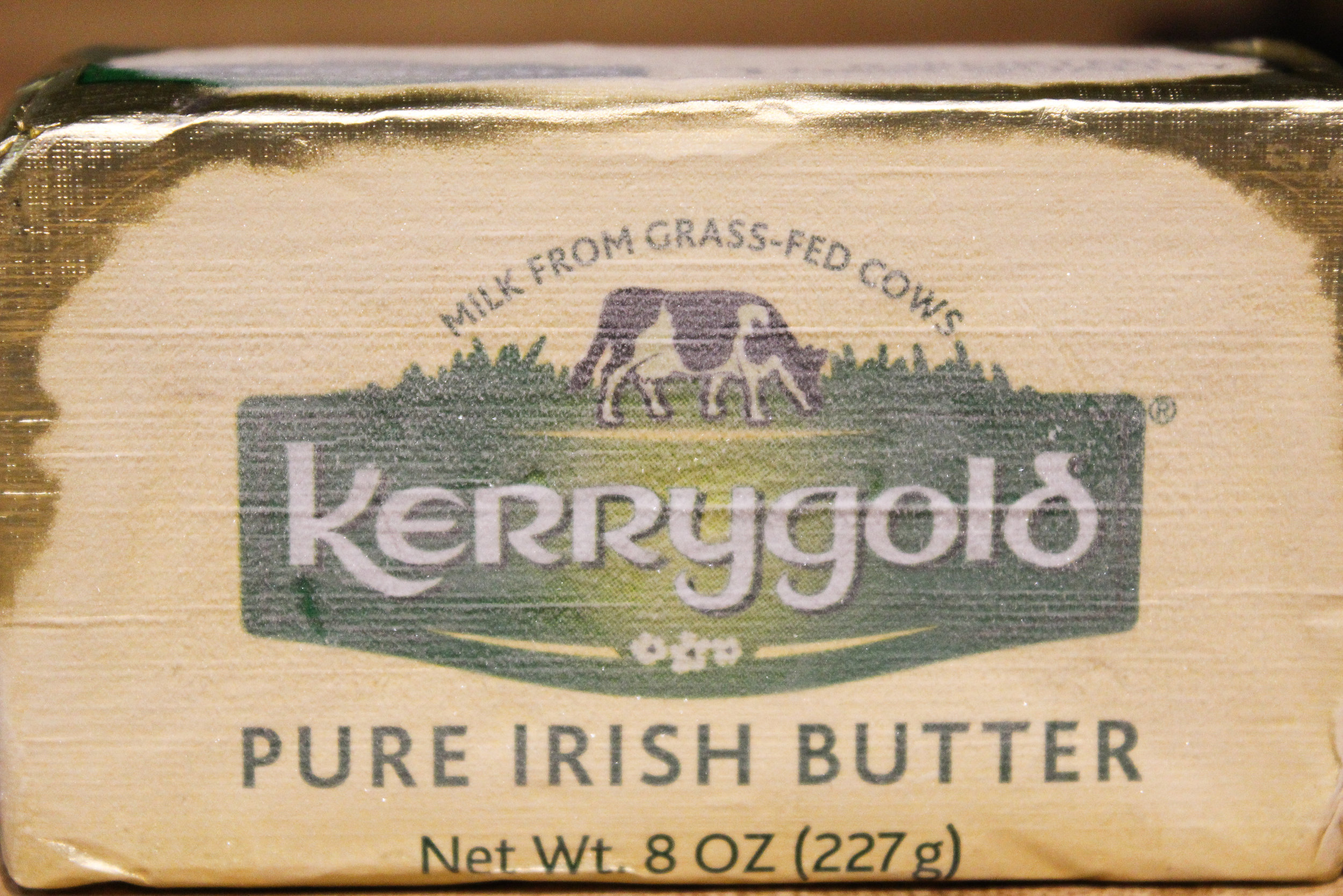 There is no butter that compares to Kerrygold grass fed butter!