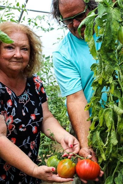 Deb and Jim from Crescere Farms, Holt, Florida