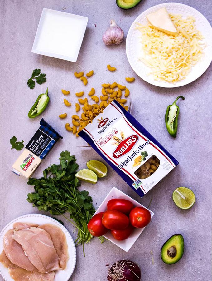creamy copy cat panera bread mac and cheese recipe ingredients