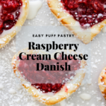 Puff Pastry danish pinterest image
