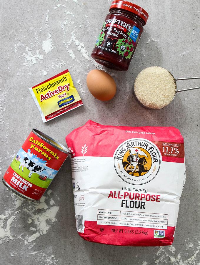 Beignet ingredients are displayed individually.