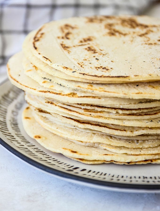 2 Ingredient Homemade Corn Tortillas Backyard Bohemian
