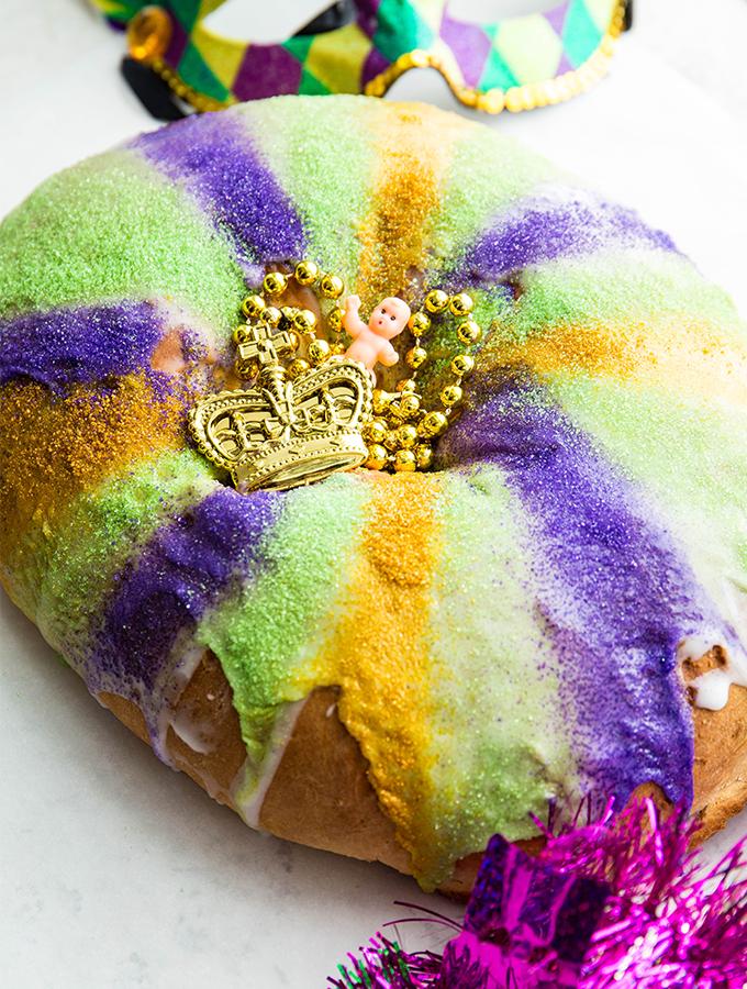New Orleans King Cake Sea Salt Savorings