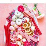 Valentine's Day Dessert Board Pinterest image.
