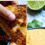 Easy Chicken Quesadillas Pinterest image.