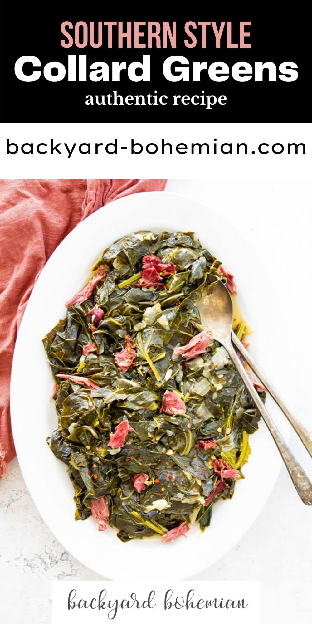 Southern style collard greens are simmered for hours with smoked turkey necks and loads of seasoning to provide the most velvety, decadent greens you've ever had! This is a true southern recipe that has been passed down for generations! via @foodhussy